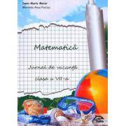 Matematica. Jurnal de vacanta pentru clasa a VII-a