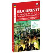 Harta turistica Bucuresti si imprejurimi (Bilingva)