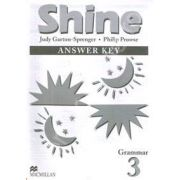 Shine 3 - Grammar. Answer Key
