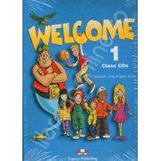 Curs de limba engleza. Welcome 1 class CDs (Set 3 CD)