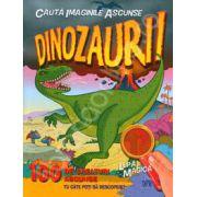 Dinozaurii 100 de creaturi ascunse (Contine lupa magica)