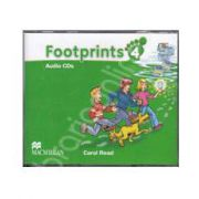 Footprints 4 - Class Audio CDs 4 (Contine 4 cd-uri)