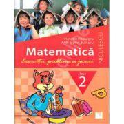 Matematica. Exercitii, probleme si jocuri, clasa a II-a