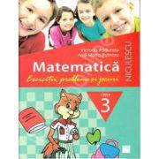 Matematica. Exercitii, probleme si jocuri, clasa a III-a