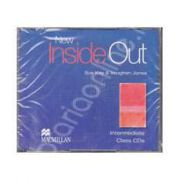 New Inside Out Intermediate B1 Audio CDs, 3 (Contine 3 cd-uri)