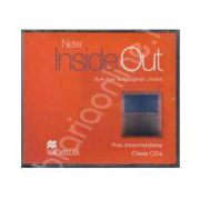 New Inside Out Pre-Intermediate Class Audio CDs, 3 (Contine 3 cd-uri)