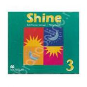 Shine 3, B1+. Class Audio CD (Contine 3 cd-uri)