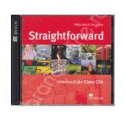 Straightforward Intermediate B1, Class Audio CDs (Contine 2 cd-uri)