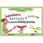 Abilitati practice manual pentru clasa a II-a. Indemanare, fantezie si culoare
