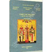 Caiet de religie pentru clasa a VII-a. Auxiliar pentru elevi