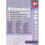 Matematica M1, clasa a XI-a. Culegere de probleme (Marius Burtea)