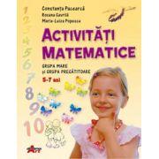 Activitati matematice (grupa mare si pregatitoare) - Constanta Pacearca