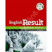 English Result Pre-Intermediate Workbook with Answer Booklet and MultiROM Pack