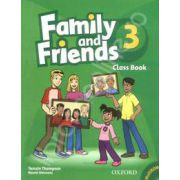 Family and Friends 3 Class Book and MultiROM Pack