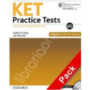 KET Practice Tests Revised Edition: With Key and Audio CD Pack