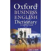 Oxford Business English Dictionary for learners of English Dictionary and CD-ROM Pack