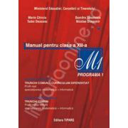 Matematica manual clasa a XII-a  M1