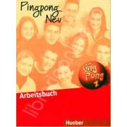 Limba germana caiet clasa a V-a, L2. Pingpong Neu 1, Arbeitsbuch