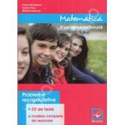 Matematica, evaluare nationala 2014. Probleme recapitulative, 50 de teste, modele complete de rezolvare
