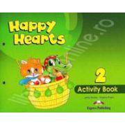 Curs pentru limba engleza Happy Hearts 2 Activity Book