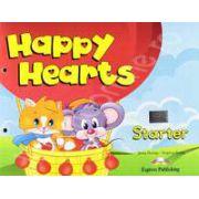 Curs pentru limba engleza Happy Hearts Starter Pupils Pack