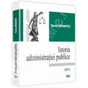 Istoria administratiei publice
