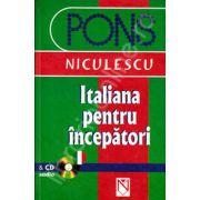 Italiana pentru incepatori (cu CD audio) (PONS)