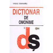 Dictionar de omonime (Editie Brosata)