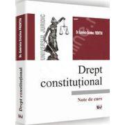 Drept constituional - Note de curs