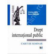 Drept international public. Caiet de seminar (Cristian Jura)