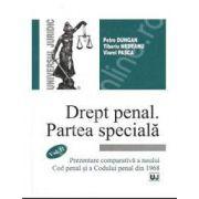 Drept penal. Partea speciala. Vol. II