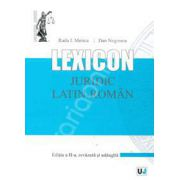 Lexicon juridic latin-roman Editia a II-a, revazuta si adaugita