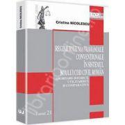 Regimurile matrimoniale conventionale in sistemul noului Cod civil roman