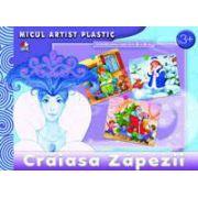 Craiasa Zapezii. Micul artist plastic, activitati 3-5 ani