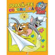 Tom si Jerry. Joaca-te si coloreaza volumul 4
