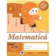 Matematica, caiet de lucru grupa mare 5 ani.