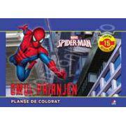 Spider-Man. Planse de colorat (contine 15 autocolante)