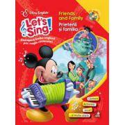 Friends and Family - Prietenii si familia (Carte + CD)
