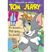Tom si Jerry. Pe locuri... Fiti gata... La joaca! - Super carte de colorat (Editia a II-a)