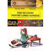 Fise de lucru pentru limba Romana clasa a IV-a (Colectia foarte bine). Editia a II-a