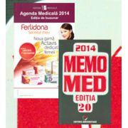 Pachetul Farmacistului. Agenda Medicala 2014 (Editie de buzunar) si MemoMed 2014 (Editia 20)