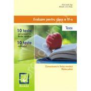 Comunicare in limba romana si Matematica pentru clasa a IV-a. Evaluare nationala in 20 de teste