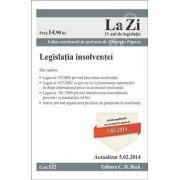 Legislatia insolventei. Actualizata la data de 5.02.2014 (Cod 532)