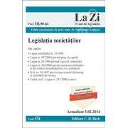 Legislatia societatilor. Actualizat la 5. 02. 2014 (Cod 534)