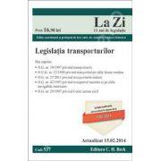 Legislatia transporturilor. Actualizat la 15.02.2014 (Cod 537)