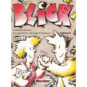 Limba germana manual clasa a IX-a L2. Blick, band 1 Lehrbuch
