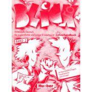 Limba germana clasa a IX-a (L2). Manualul profesorului. Blick band 2,  Lehrerhandbuch
