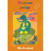 Dinozauri jucausi - Bloc de desen