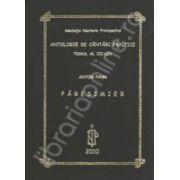 Antologie de cantari psaltice. Tomul al III-lea. Paresimier