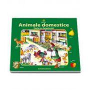 Animale domestice (carte cu ferestruici)